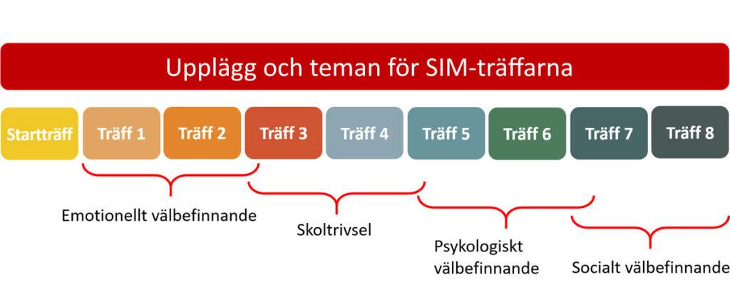 Schema för SIM-träffarna.